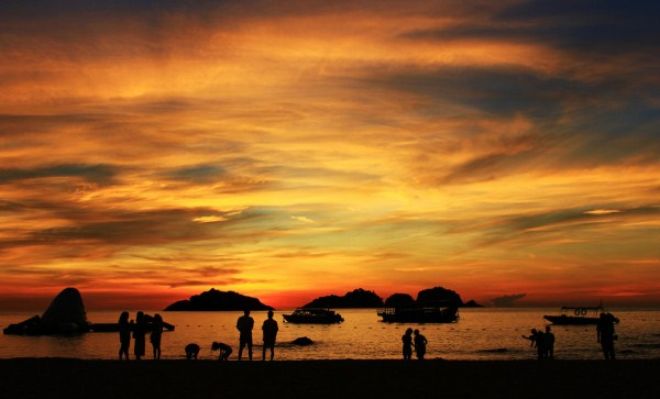 Sunset redang island