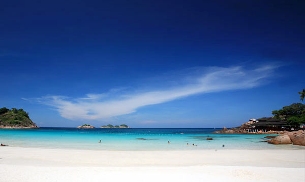 redang island white beach